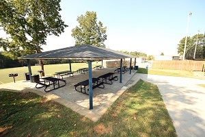 Groveway Park Shelter # 2 (Previously Named Soccer Overlook Shelter)